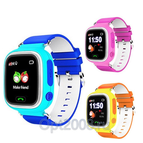 Часы Smart Baby Watch GPS Q80 с Wi-Fi Оптом