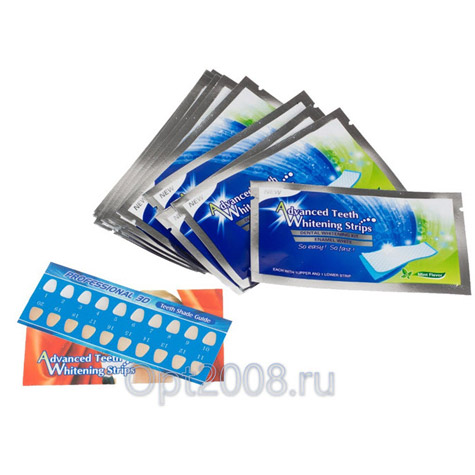 Полоски Advanced Teeth Whitening Strips Оптом