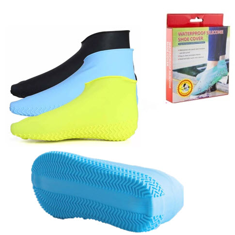 Силиконовые Бахилы Waterproof Silicone Shoe Cover Оптом