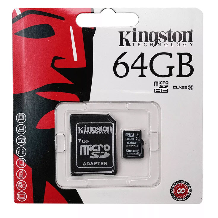 Карта Памяти 64 Гб micro SDHC Kingston Оптом