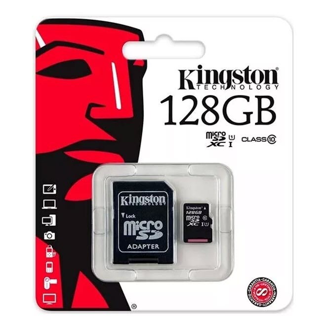 Карта Памяти 128 Гб micro SDHC Kingston Оптом